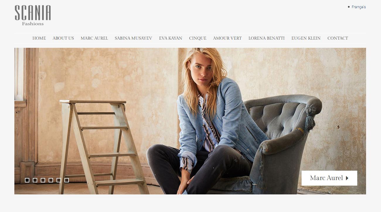 Scania Homepage